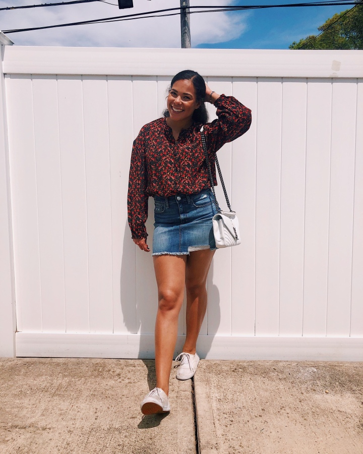 How to Style: Denim Skirts