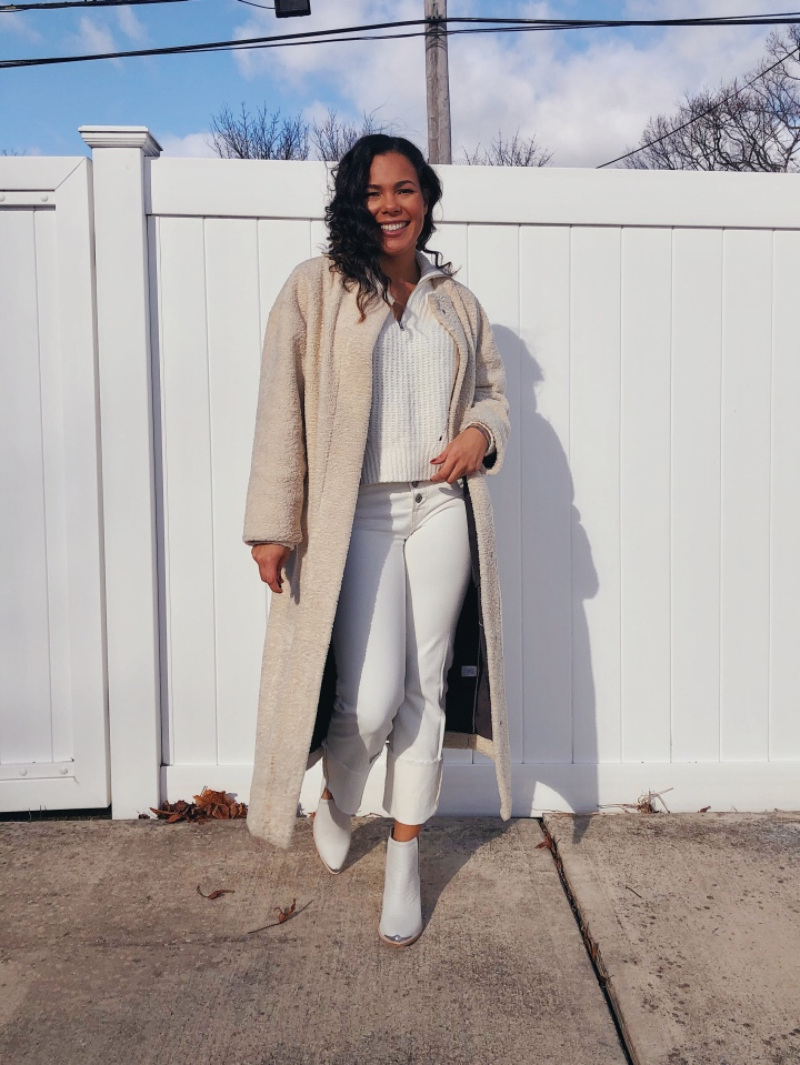 Outfit Of The Day: Styling WinterWhites