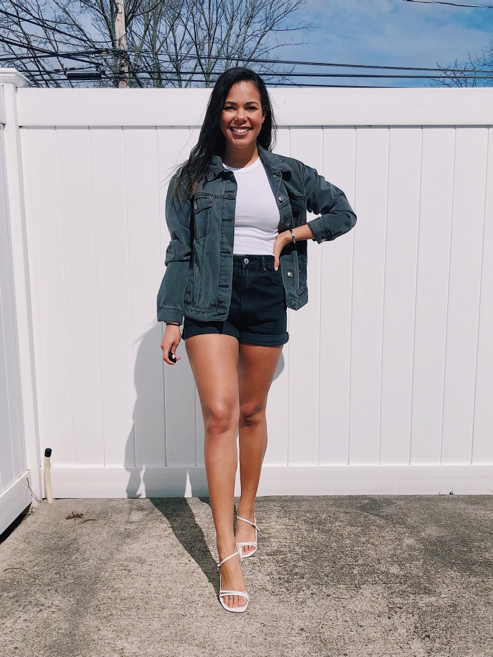 Five Easy Ways To Style Denim Shorts ThisSpring