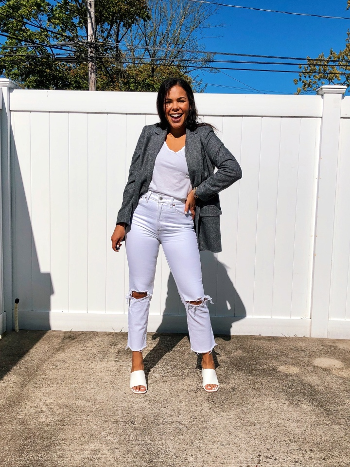 How I Style My Everlane Oversize Blazer 3 Ways
