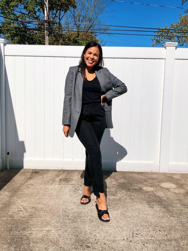 Karen Faye Style - Styling Everlane Oversize Blazer