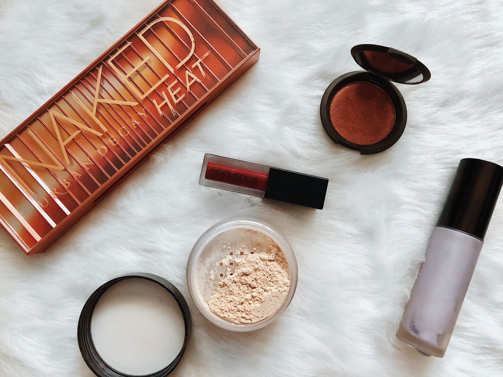 Karen Faye Style - Easy Fall Makeup Look using products from Urban Decay, Smashbox, Laura Mercier, and BECCA