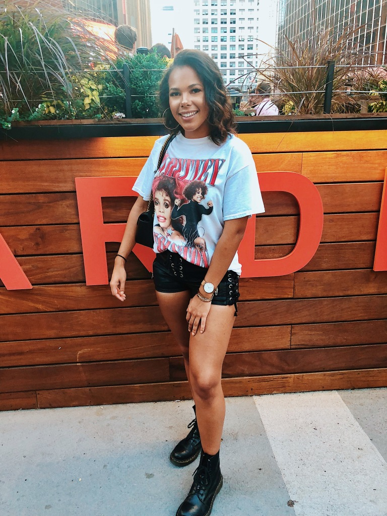 Karen Faye Style - What I Wore for a Drake Concert, Aubrey And the Three Migos at Madison Square Garden (MSG) in NYC