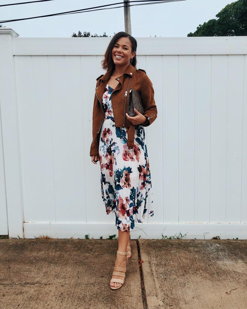 Karen Faye Style - Fancy Fall Date Night Dress